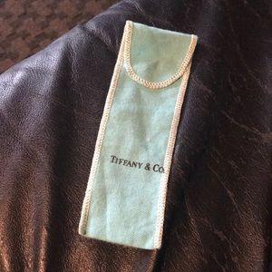 Tiffany bracelet pouch